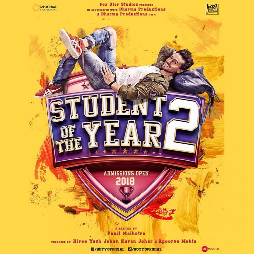 Tiger Shroff's Student of the year 2 begins shooting