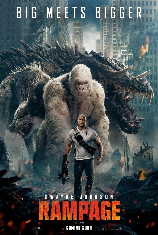 Rampage movie review: A dumb movie elevated by Dwayne Johnson's charisma