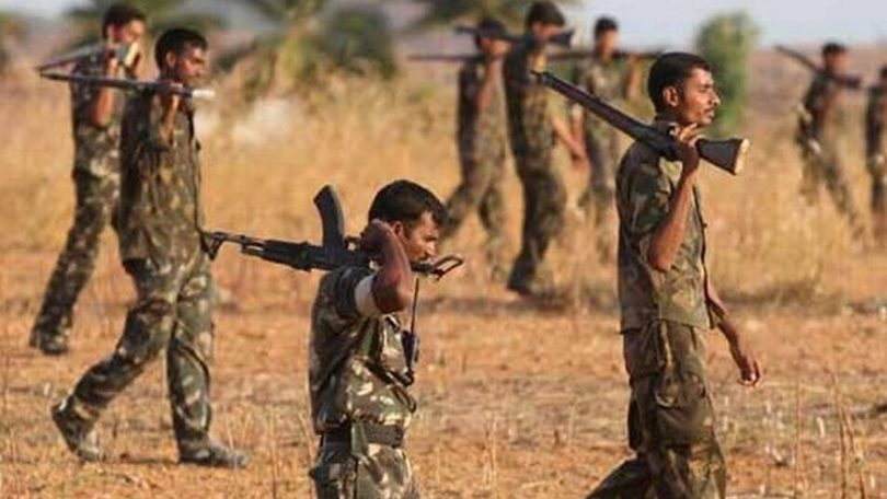 Jharkhand, Latehar: Five Naxals killed in encounter with security forces