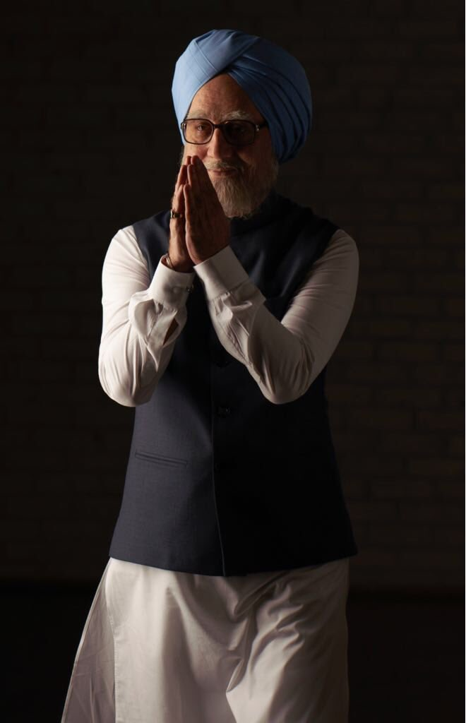Anupam Kher's new look for The Accidental Prime Minister released