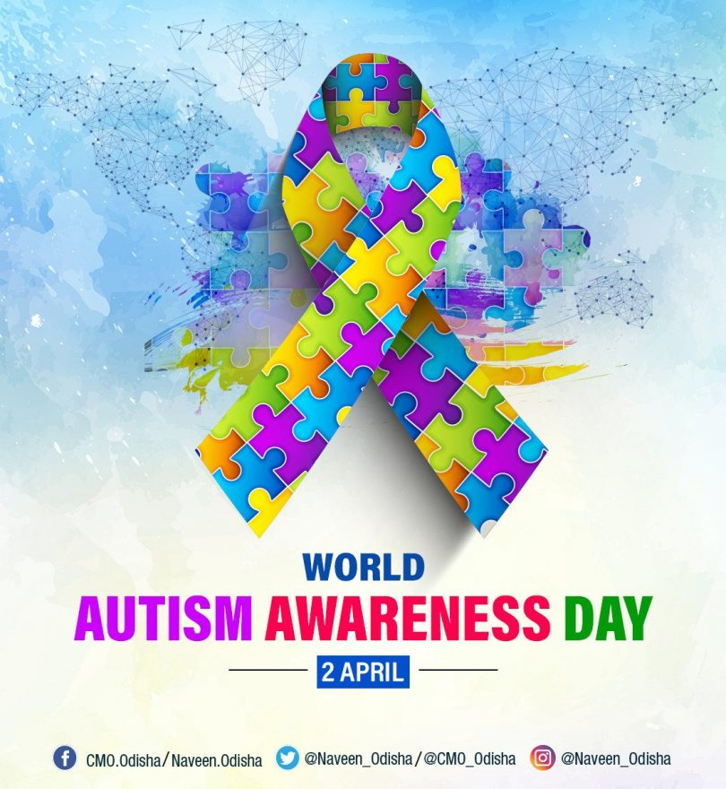 World Autism Awareness Day, to encourage acceptance and removing any stigma