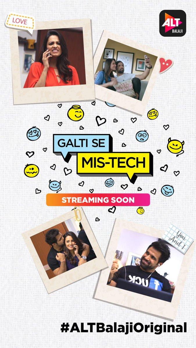 ALT's Balaji's Galti Se Mis-tech first look, starring Anita Hassanandani and Ritwik Dhanjani