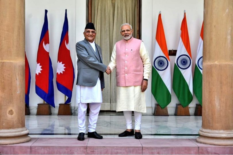 Nepal Prime Minister, KP Oli in India, talks about development about both countries and importance of relations