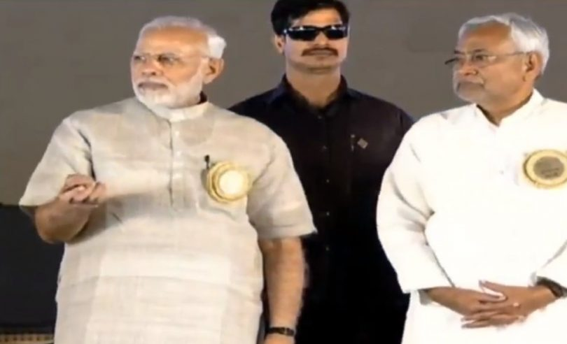 Narendra Modi visits Bihar, talks about projects to promote cleanliness