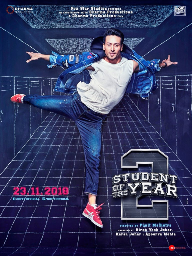 Student of the Year 2: Tiger Shroff, Tara Sutaria and Ananya Pandey feature in the new posters from the movie