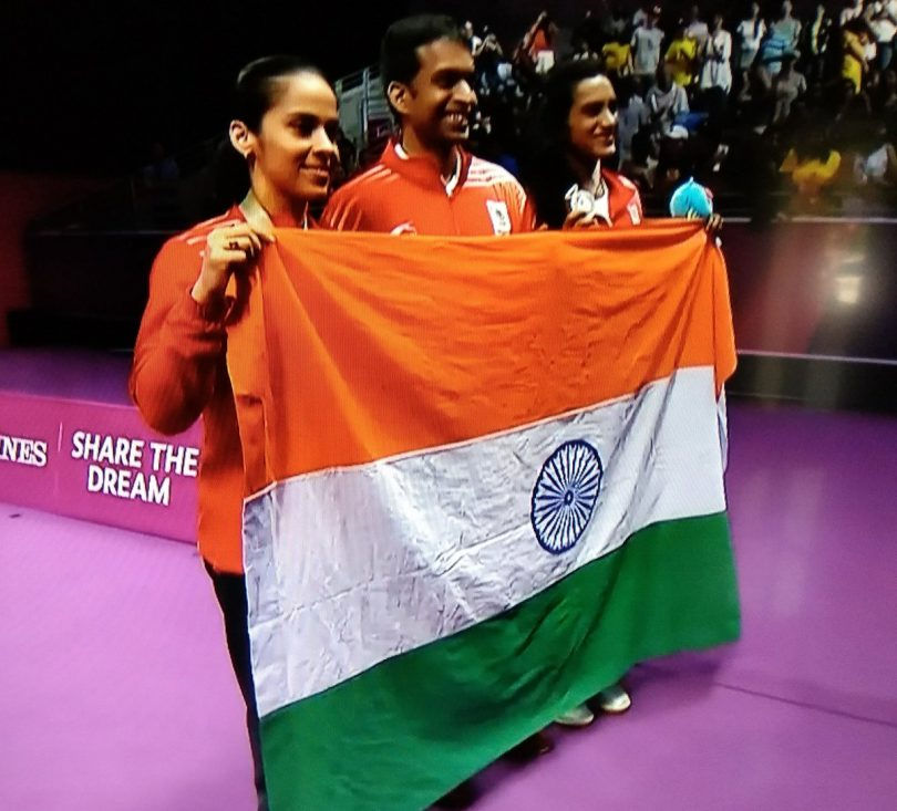 CWG 2018 Badminton: Saina Nehwal beat PV Sindhu 21-18, 23-21 to win her second gold medal