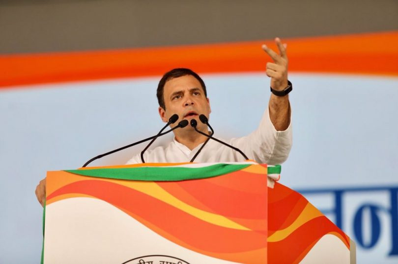 Rahul Gandhi at Jan Akrosh Rally, attacks Modi government, to visit Kailash Mansarowar after the Karnataka elections