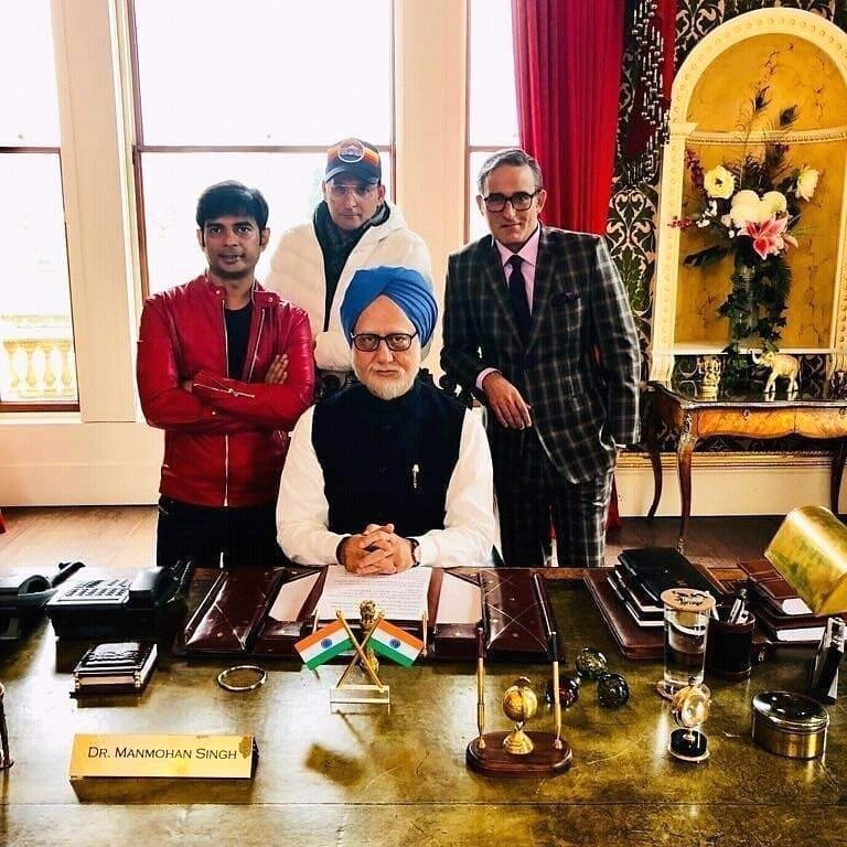 Anupam Kher's The Accidental Prime Minister wraps up first schedule in London