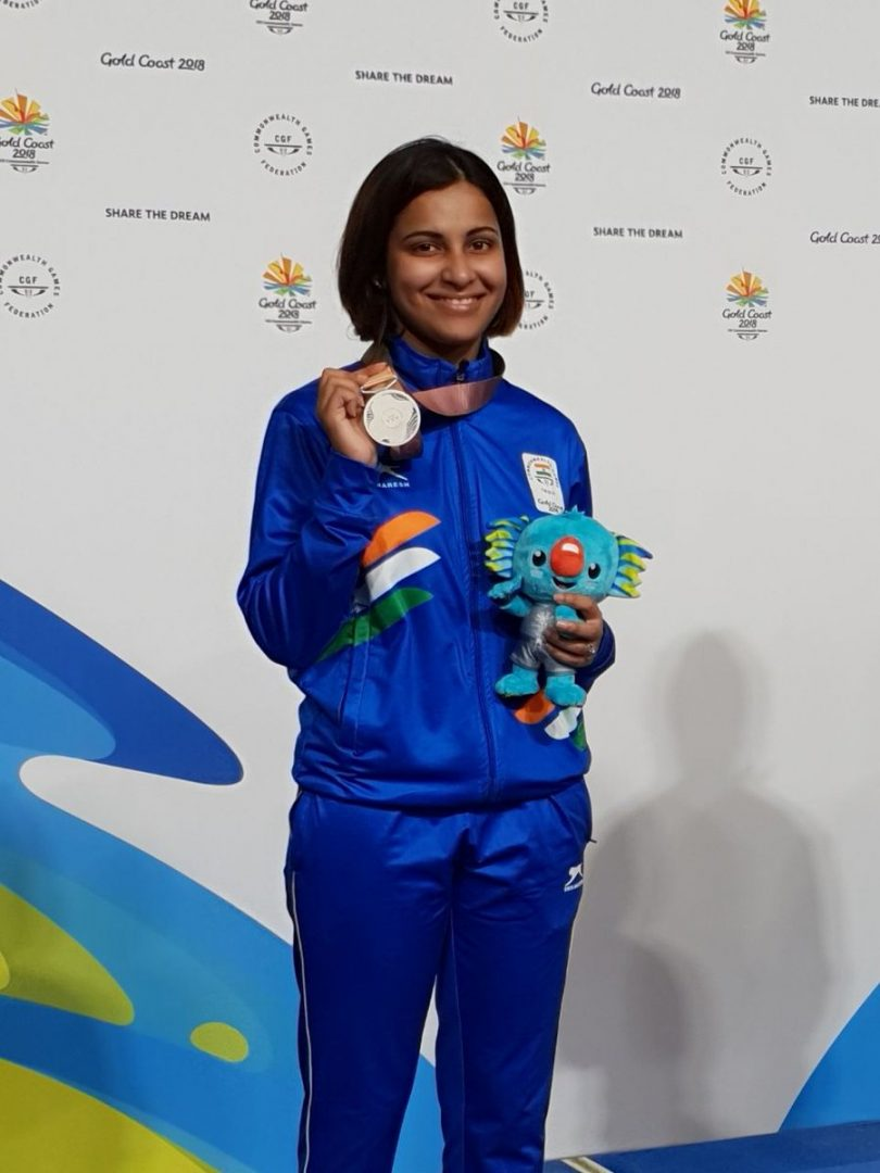 Heena Sidhu sets World Record at 25m Pistol Event, Wins Gold medal