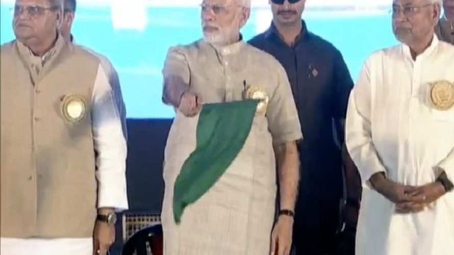 PM Modi flags off to Humsafar Express, First ride will starts from 16 April