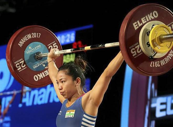 CWG 2018: Weightlifter Mirabai Chanu wins first Gold medal for India