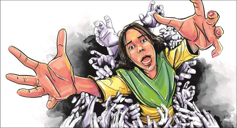 MP's model skirt pulled by molesters in busy road, CM gives command for action