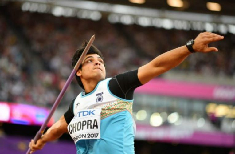 Chopra wins 1st gold for India in javelin event