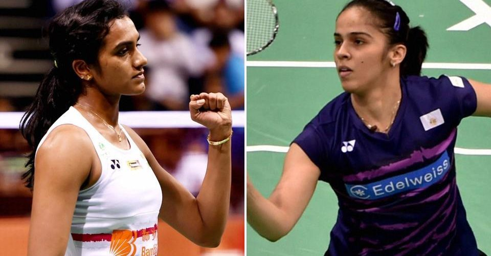 Saina becomes first Indian to win two singles golds in badminton