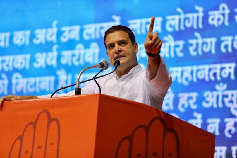 'BJP ke Logo se Beti Bachao', Rahul Gandhi attacks PM Modi at save the constitution campaign