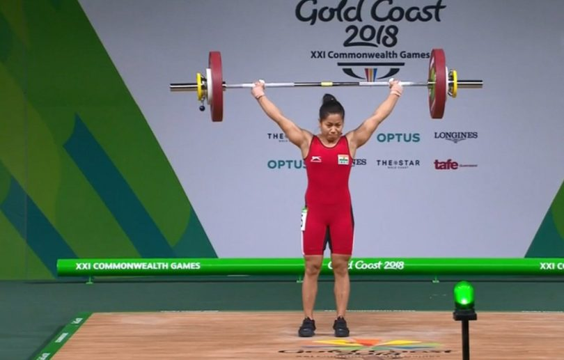 CWG 2018: Sanjita Chanu wins Gold by setting a record in Weightlifting