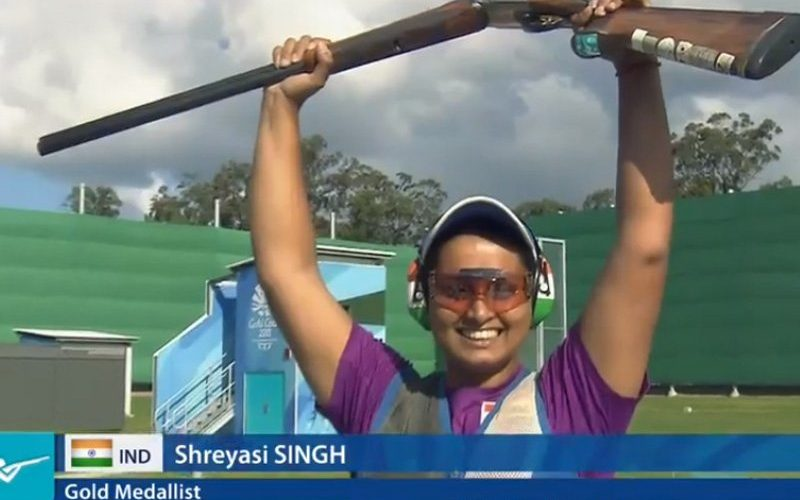 CWG 2018: Shreyasi Singh wins Gold Medal in Women's Double Trap