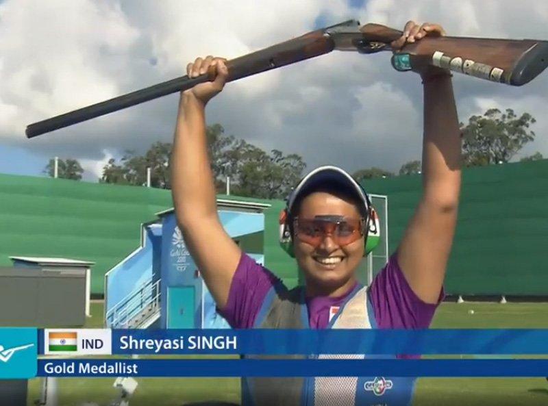 CWG 2018: Shreyasi Singh wins Gold Medal in Women's Double Trap
