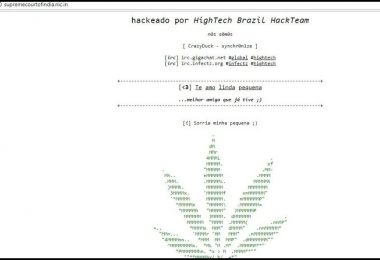 Supreme Court website hacked, Brazilian hackers involvement suspected in breach