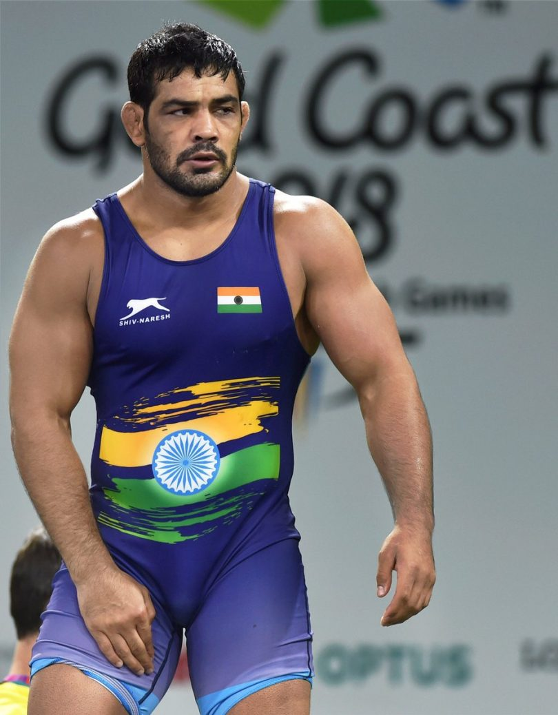 CWG 2018: Sushil Kumar completes his Gold hat-trick in Commonwealth Games