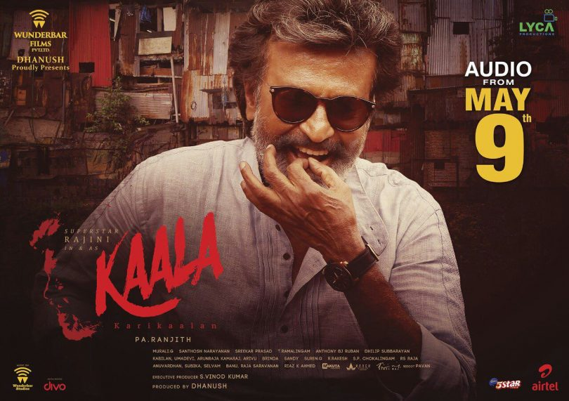Rajinikanth starrer 'Kaala' grand audio launch to happen on this day