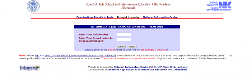 UP board result 2018: 12th class results declared, 10th class results to come out soon today