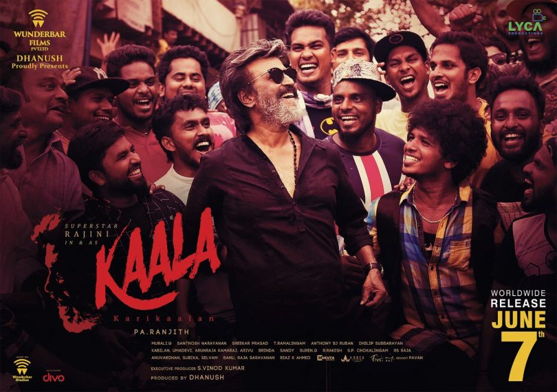Rajinikanth starrer 'Kaala' audio launch to happen on this day