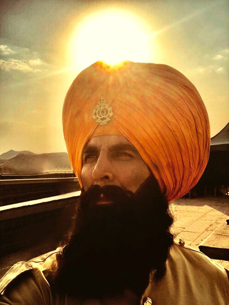 Akshay Kumar wishes Baisakhi from 'Kesari' shoot in his rugged avatar