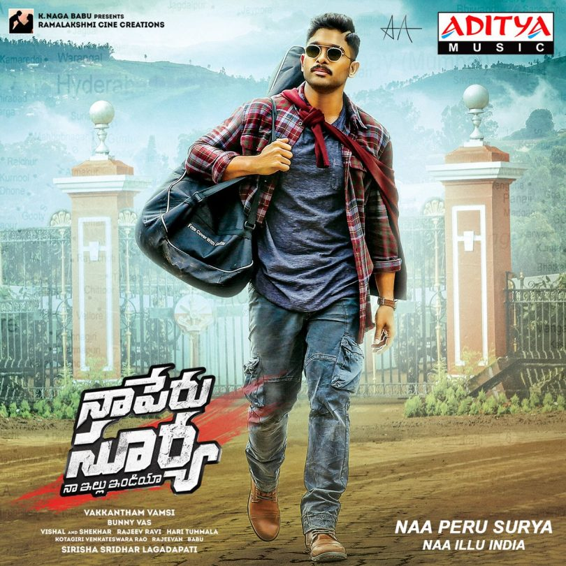 Allu Arjun starrer 'Naa Peru Surya's music launch and it is roaring