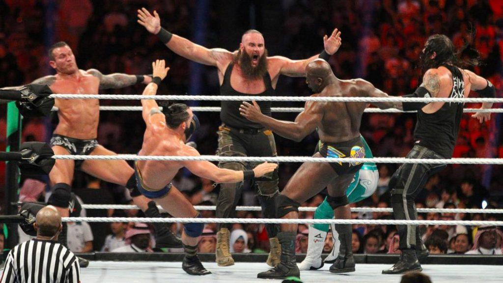 Brown Stroman wins first 50-men greatest royal rumble match