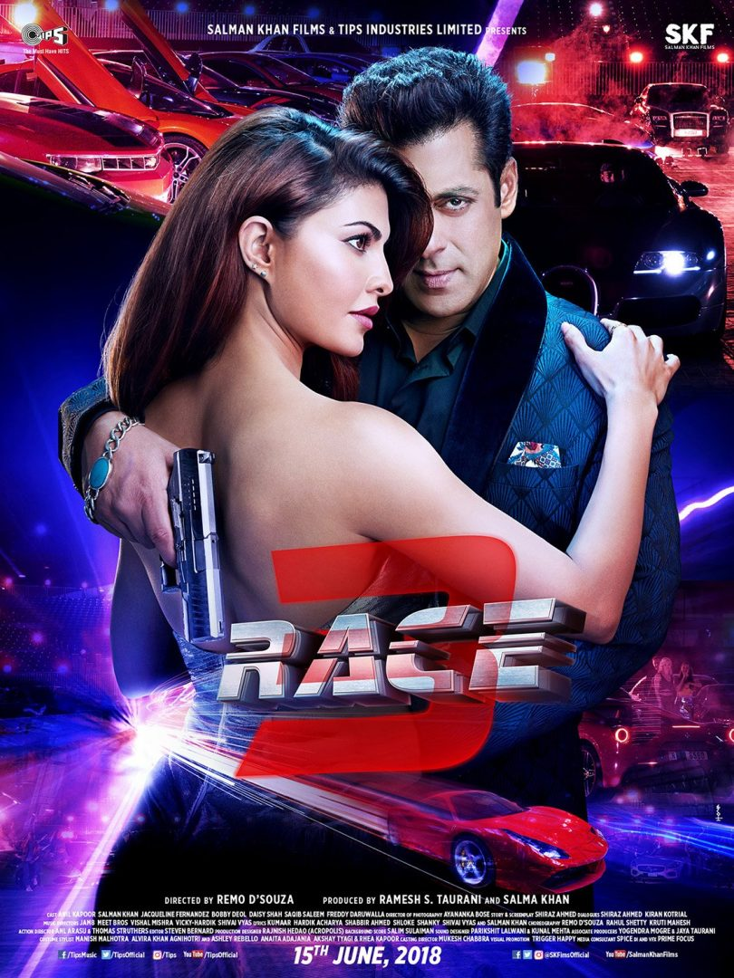 Salman Khan starrer 'Race 3' shows Jacqueline Fernandez in a sexy avatar