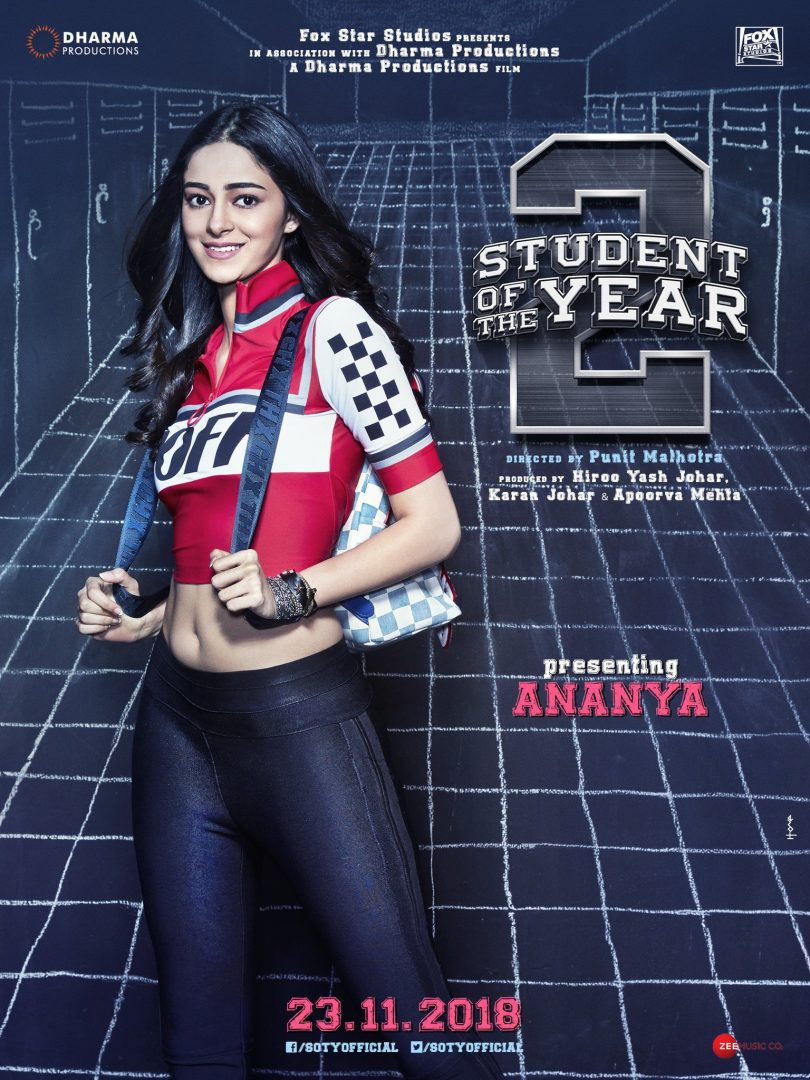 Ananya Pandey enters Tiger Shroff starrer 'Student of the Year 2'