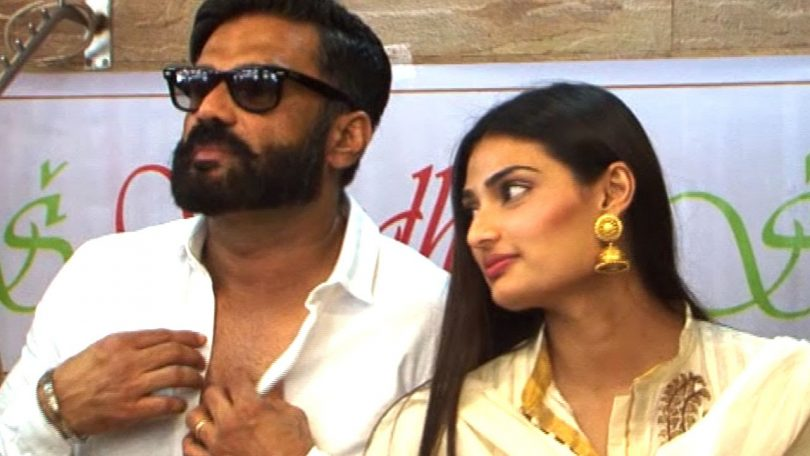 Suniel and Athiya Shetty to come together on screen for the first time