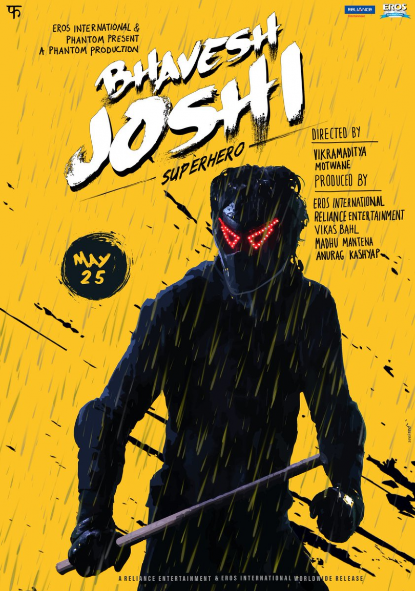 Bhavesh Joshi Superhero teaser: Harshvardhan Kapoor is a masked vigilante in Vikramadtiya Motwane's movie
