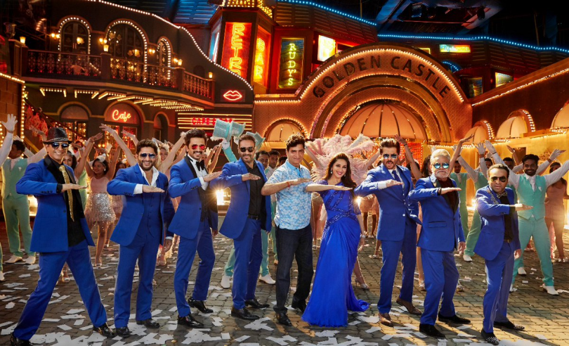 Total Dhamaal, starring Madhuri Dixit and Anil Kapoor to recreat Paisa Yeh Paisa from Karz