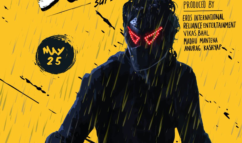 Harshvardhan Kapoor as masked superhero in quirky posters of Bhavesh Joshi Superhero