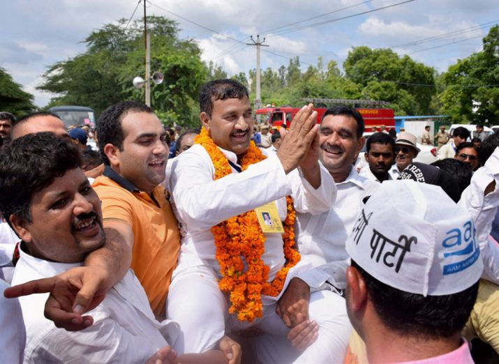 Kairana-Noorpur bypolls 2018; AAP gives support to RLD-SP Candidate