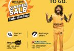 Amazon summer sale 2018; starts on May 13, offers on smartphones, electronics, accessories and more