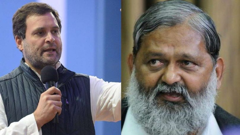 "Meet Haryana Minister Anil Vij, who compared Congress President as ""Nipah-Virus"""