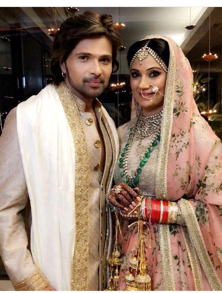 Himmesh Reshammiya marries Sonia Kapoor, see pics of the beautiful couple