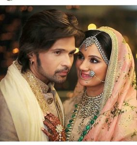 Himmesh and Sonia look beautiful as a married couple