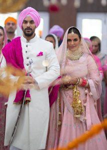 The Beautiful Married Couple: Angad Bedi and Neha Dhupia