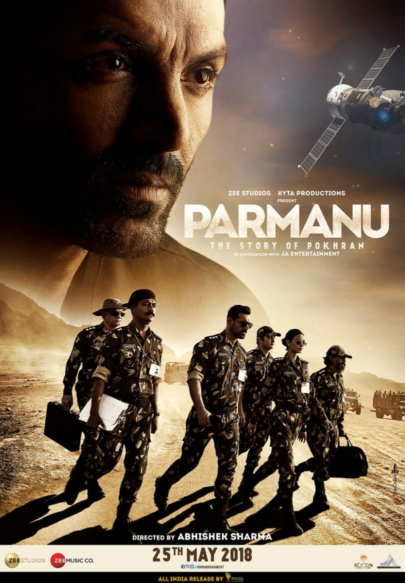 Parmanu: The story of Pokhran movie new poster features John Abraham, trailer to release soon today