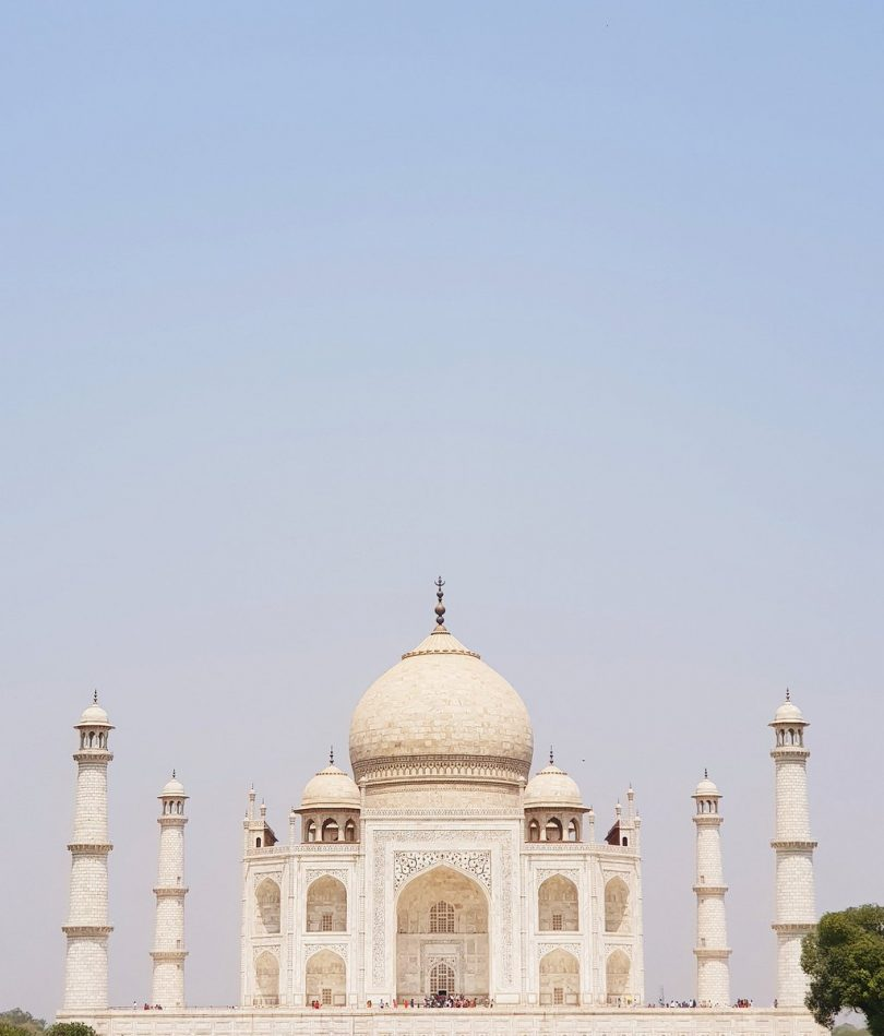 Supreme court reprimands central government on Taj Mahal's color turning green and brown from yellow