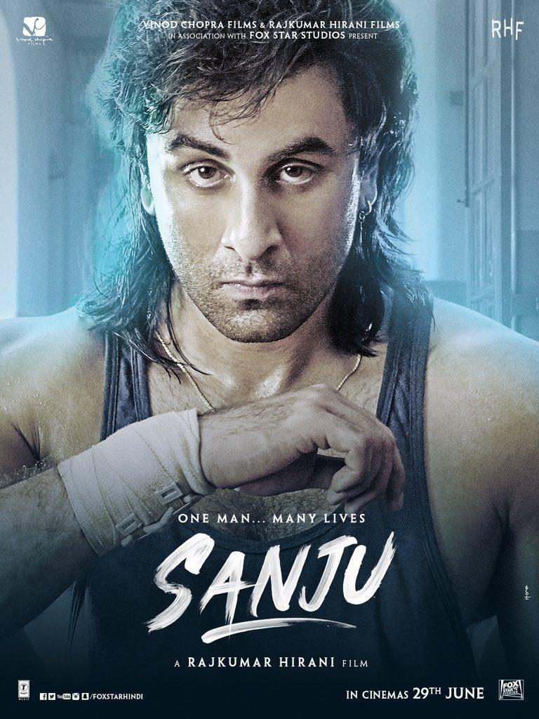 Sanju movie poster: Meet Ranbir Kapoor as Sanjay Dutt from the 90s era