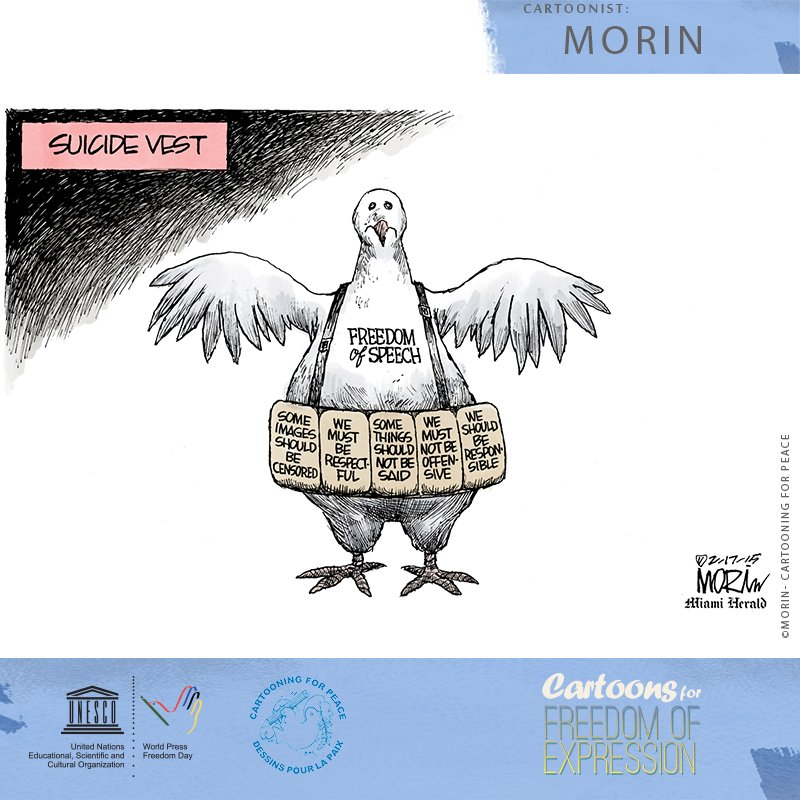 World Press Freedom day 2018, for the importance of press and media