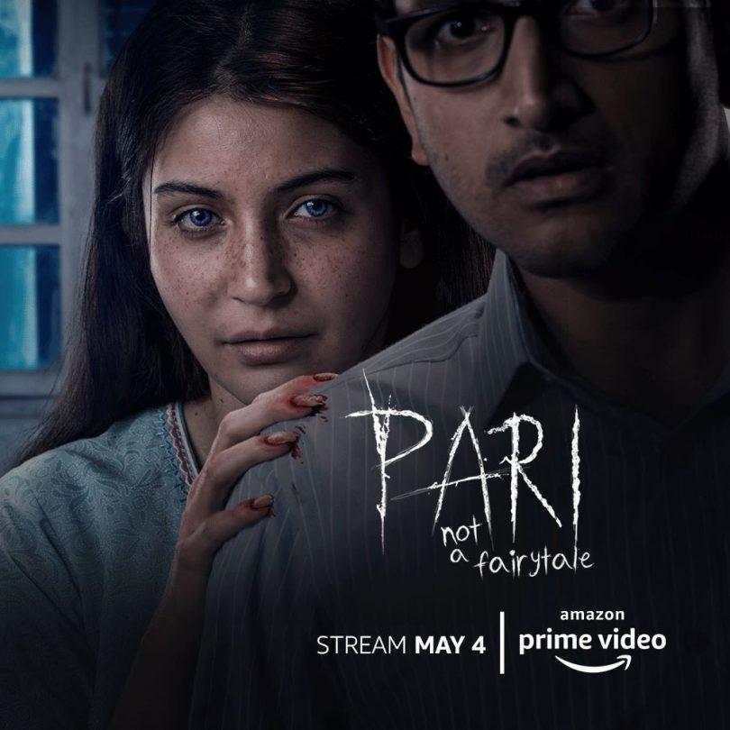 Pari movie, starring Anushka Sharma streams on Amazan Prime today