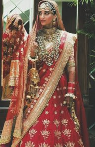 Sonam Kapoor looks ravishing as the bride of Anand Ahuja