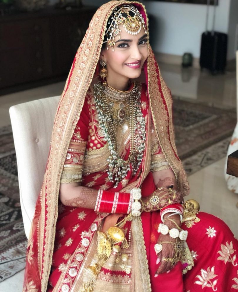 Sonam Kapoor and Anand Ahuja wedding: Sonam looks ravishing as the bride