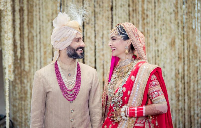 Sonam Kapoor and Anand Ahuja are married